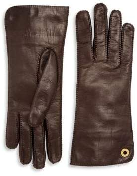 Loro Piana Jacqueline Leather Gloves