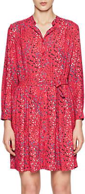 French Connection Frances Drape Dress, Watermelon