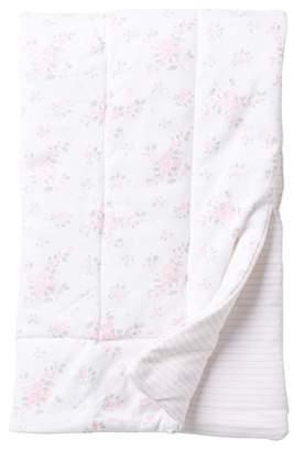 Little Me Roses Puff Blanket