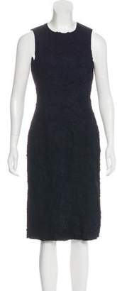 Michael Kors Silk-Blend Crepe Dress