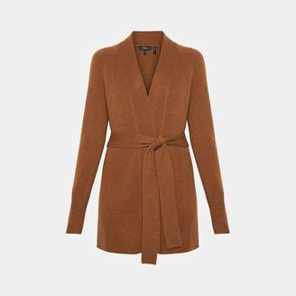 Cashmere Belted Cardigan