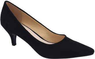 Greatonu Womens Comfort Insole Slip On Pointy Closed Toe Pumps Size 7