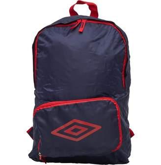 Umbro Packaway Diamond Logo Backpack Blue