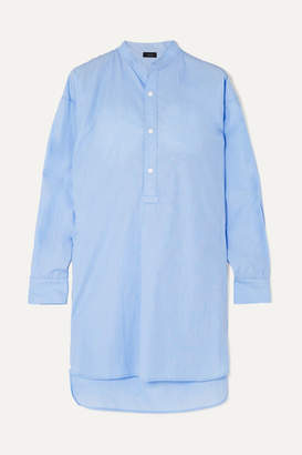 Joseph Edwin Cotton-chambray Tunic - Blue