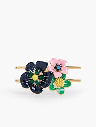 Talbots Tropical Blooms Cuff