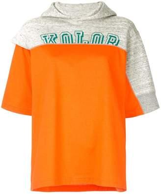 Kolor hooded T-shirt
