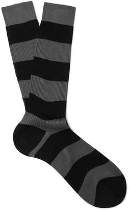 Prada Striped Cotton Socks