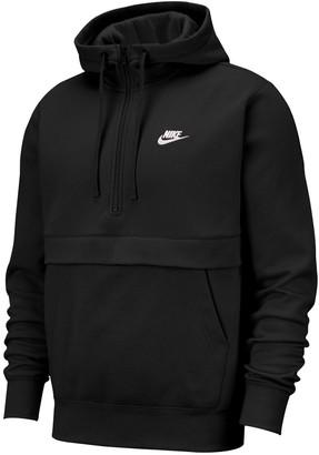 Nike Men's Sportswear Club Fleece Half-Zip Hoodie