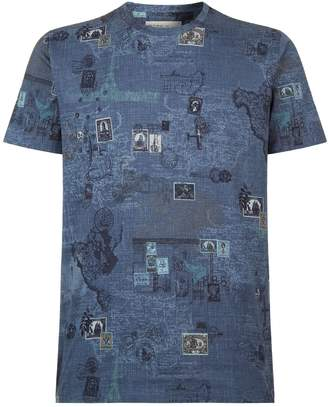 Etro Stamp Print T-Shirt