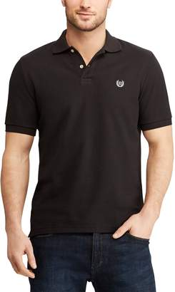 Chaps Men's Stretch Solid Pique Polo