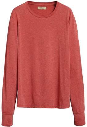 Burberry devoré long sleeve T-shirt