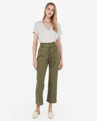 Express One Eleven Strappy Front London Tee