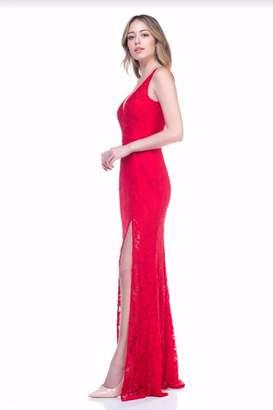 Maniju Sexy Lace Gown
