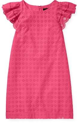 Ralph Lauren Eyelet Woven Dress