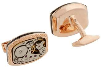Tateossian Rectangular Skeleton Cufflinks
