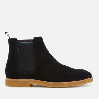 Paul Smith Men's Andy Suede Crepe Sole Chelsea Boots - Black