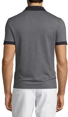 Original Penguin Men's Birdseye Pique Short-Sleeve Polo Shirt