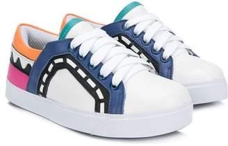 Sophia Webster Mini Riko lace-up sneakers