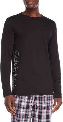 Calvin Klein Long Sleeve Logo Tee