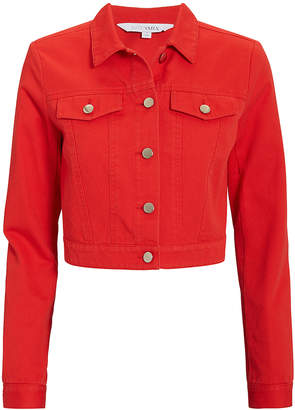 Intermix Kennedy Red Denim Jacket