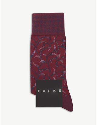Falke Floral print cotton-blend socks