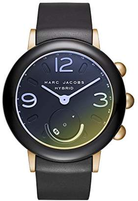 Marc Jacobs Women's 'Riley Hybrid' Quartz Stainless Steel and Rubber Smart Watch