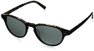 John Varvatos Unisex-Adult V600 V600TOK52 Polarized Oval Sunglasses