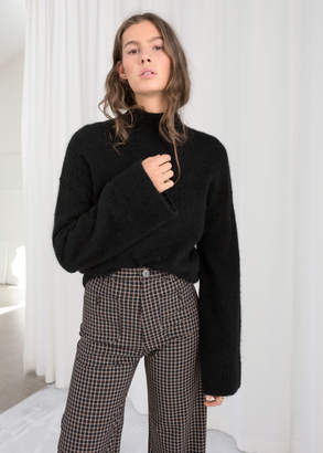 And other stories Bell Sleeve Turtleneck Sweater