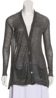 Inhabit Alpaca Button-Up Cardigan