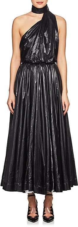 CALVIN KLEIN 205W39NYC Women's Self-Scarf Halter Dress