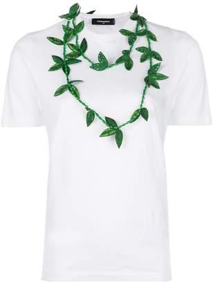 DSQUARED2 necklace applique T-shirt