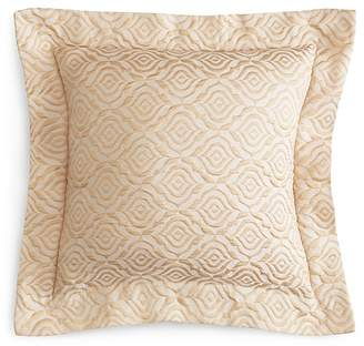 "Frette Lux Rosette Decorative Pillow, 20"" x 20"""