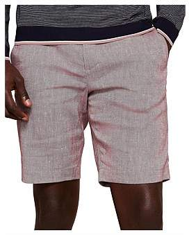 Ted Baker Newshow Oxford Fabric Shorts