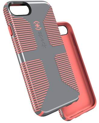 Speck Nickel Grey/Warning Orange iPhone 7 Plus Candyshell Grip Case