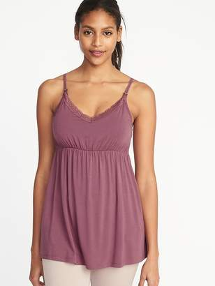 Old Navy Maternity Lace-Trim Nursing Cami