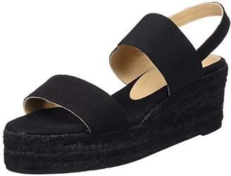 Castaner Women's Bonsai C3Edss18001 Platform Sandals, (Black 100)