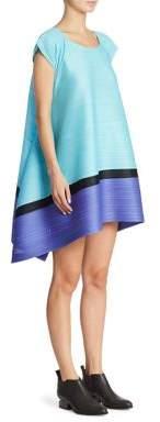 Pleats Please Issey Miyake Bounce Striped Dress