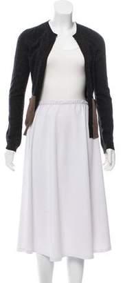 Marni Belted Wool Cardigan