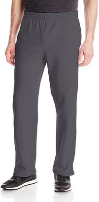 Fruit of the Loom Men's Pocketed Open-Bottom Sweatpants - Extra Sizes