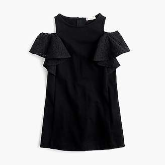 J.Crew Girls' off-the-shoulder ruffle dress