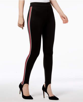 INC International Concepts I.N.C. Varsity Stripe Stirrup Leggings, Created for Macy's