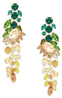 Jardin Crystal Ombre Drop Earrings