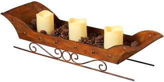 Gerson LED Candle Sleigh Decor