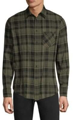 Rag & Bone Plaid Button-Down Shirt