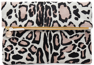 Clare V. Hair On Foldover Clutch $275 thestylecure.com