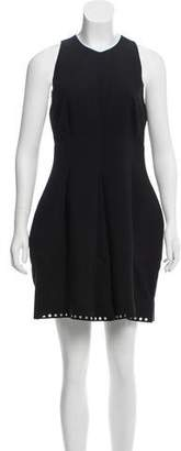 Balenciaga Sleeveless Silk Mini Dress