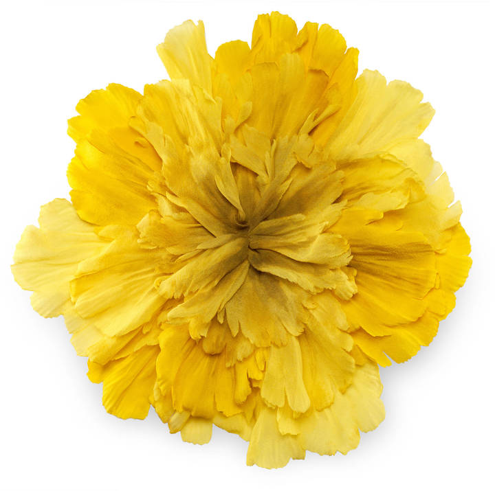 GucciLarge flower brooch in silk