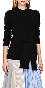 Lulu LES COYOTES DE PARIS Women's Cashmere Tie-Front Sweater - Black