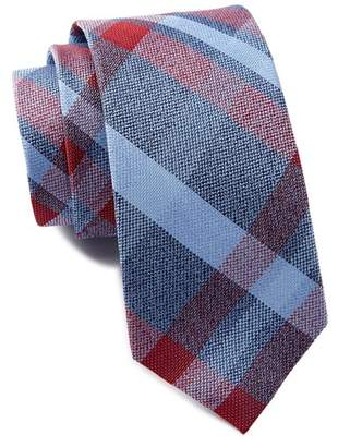 Ben Sherman Kirkwood Plaid Silk Tie