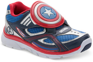 Stride Rite Little Boys' Captain America Sneakers $50 thestylecure.com